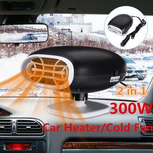 Audew Car Heaters Universals 12V 300W Car Interior Heating Accessories Fan Heaters Window Mist Remover