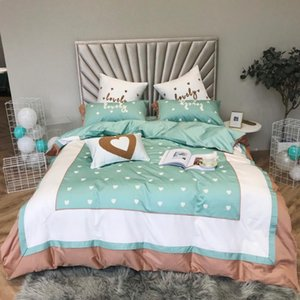 Bedding Sets Princess Egypt Cotton Set 4PCS KING QUEEN SIZE Bed Bedsheet Linen Korean Ruffles Patchwork