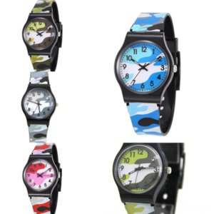 v34mp New Children Camouflage Case Terra .. Wavy alligator watch band Stainless Steel Aqua Watch Dial Black VSF Edition Stainless Steel