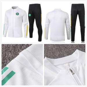 Новый 20/21 Celtic Socker Tooks Cousssit 2020 2021 Куртка Футбол Костюм Длинный раздел Мужской спортивный спортивный спортивный костюм