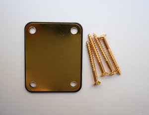Electric Guitar Reinforcing Plate Electric Bass Stiffening Panel Neck Connecting Steel Board