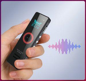 Freeshipping Professional Dictaphone Mini Covert Digital Voice Recorder MP3 Music Player U-Disk 3 in 1 Conferenza riunioni regalo portatile