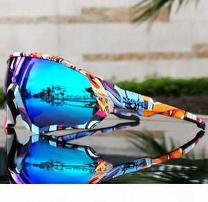 Men Goggles Cycling Glasses Outdoor Sports Sunglasses Profeesional Cycling Riding Goggles Women Bicycle Glasses 5pcs Lenses Eyewear With Box