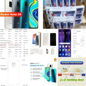 Xiaomi redmi Nota núcleo 9S 6GB 128GB global Versão Smartphone Snapdragon 720G Octa 5020 mAh 48MP Quad Câmera Nota 9 S