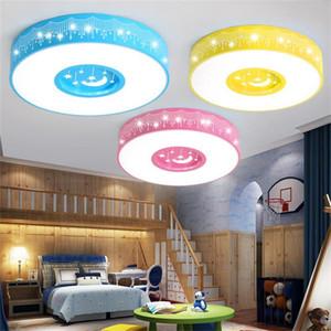 Living room round Moon Star ceiling lamps simple modern balcony corridor kids room ceiling lighting children like