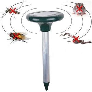 스네이크 Repeller Mole 설치류 해충 거절 마우스 Rejellent 옥외 정원 태양 전원 소닉 웨이브 초음파 해충 방충 repeller T200529