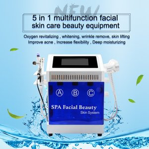2020 Multi-Functional Hydro Dermabrasion Water Jet Facial Hydra Peeling Skin Deep Cleaning Finelines Removal Hydrodermabrasion Machine