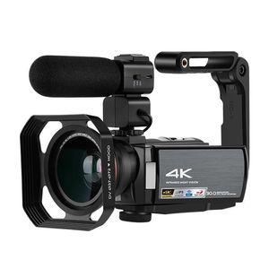 4K كامل HD 3 بوصة المهنية الكاميرا الرقمية hd dv 16x للرؤية الليلية wifi ميكروفون كاميرا الفيديو للفيديو الحذاء الساخن كاميرا المنزل