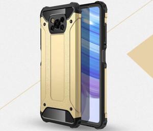 Colorido protectora del caso para Xiaomi Mi Poco X3 NFC vibrante Noble ultra-delgado dura de la PC de la contraportada de lujo