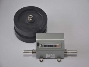 Wholesale-0-99999 Meter counter M counter length counter with 2 wheel Have reset function fZxT#