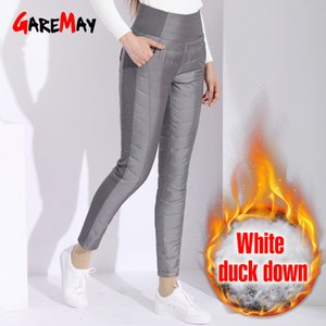 Garemay Warm Pants For Women Classic Trousers Female Plus Size Autumn Winter Pants Women's Classic With High Waist Black 201103