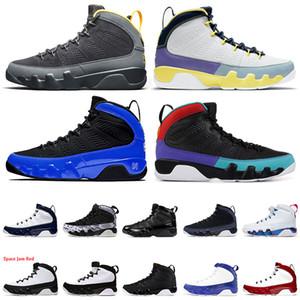 2021 luxurys designers chaussures Jumpman 9 Université Blue Gold Changer le monde Hommes Basketball Chaussures 9S Gym Rouge Taille 13 Entraîneurs Sneakers
