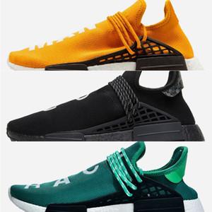 Designer Sneakers Human Race NMD Running Shoes For Men Pharrell Williams Hu trail Oreo Nobel ink Black Nerd Mens Women Sport Trainers 36-47