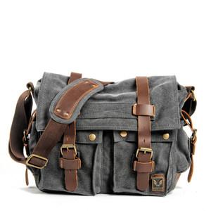 Pelle Muchuan tela di Men Messenger Bags I Am Legend Will Smith Big Satchel Shoulder Bags Maschio cartella del computer portatile di viaggio borsa C1008