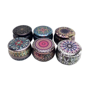 Tea Pot Tin Box Home Garden Personality Candy Box Drum-shaped Candy Cookie Box Handmade Soap Candle Jar Packaging Case 33 J2
