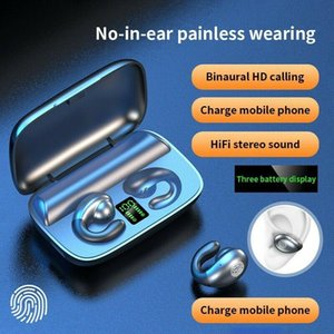 Wireless TWS Earphone Bluetooth 5.0 Sport Earbuds Headset Touch LED Digital Display With Charging Box
