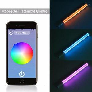 Flash heads yongnuo yn360ii yn360 II лед / пиксель светодиодные палочки биколор 3200k 5500k управление приложением Bluetooth видео светильник RGB красочные PO Stick1