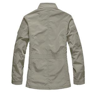 M-5XL Men Big Size Casual Long Jacket Spring Autumn Male Business Windbreak Thin Outwear Parka Loose Varsity Bomber Coat 201014