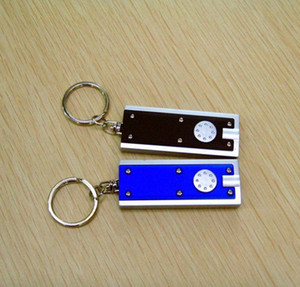 Mini Led Flashlight Key Chain Tetris Lamp Creative Plastic Universal Key Ring Lamp Pendant Party Favor 6 bbyTfM lg2010
