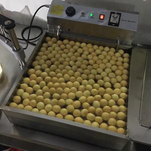 Beliebte Commercial Use Handbuch 3-Mold 7.5L Lokma Donut Making Machine Donut Donut-Ball-Maschinen-Hersteller