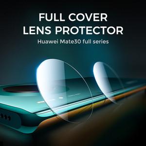 Полная крышка для Huawei Mate 20 20x 30 Lite Pro Camera Lens Camera Protector Застрелеемое стекло Телефон Протектор защитная пленка
