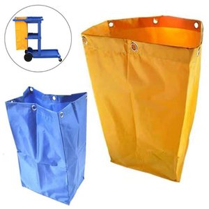Thicken Replacement Cleaning Cart Bag Hotel Laundry Housekeeping Rubbish Holder