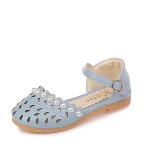 Davidyue estate pera principessa Glitter bambini morbide Girls dei sandali tacco basso del partito del vestito Scarpe C1002