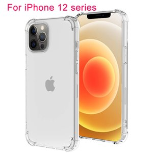 Apple iphone 12 Mini Pro Max Case Şeffaf Hava Yastık TPU Kapak Kir Dayanıklı iphone 11 Samsung Xiaomi Tam Vücut Koruma