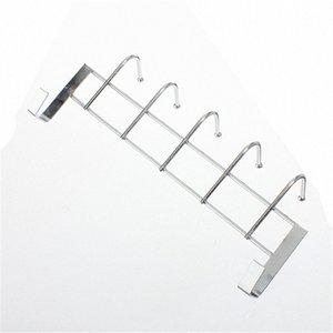 Gros-5 crochets en acier inoxydable Porte Plus Accueil Salle de bain Cuisine Manteau serviette boucle Hanger Porte-rack étagère à haute teneur w4a2 #