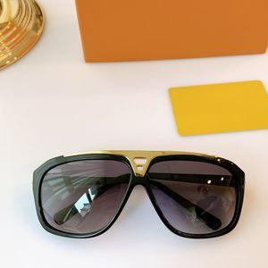 2020 Luxury Evidence Sunglasses full frame Vintage designer Evidence sunglasses for men Shiny Gold Logo Hot sell Gold plated Top Z0105E