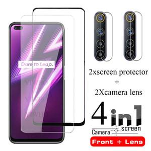 For OPPO Realme 6 Pro Glass Screen Protector for Realme 6i 6i Film Protective Tempered Camera Len Glass Film Realme6i
