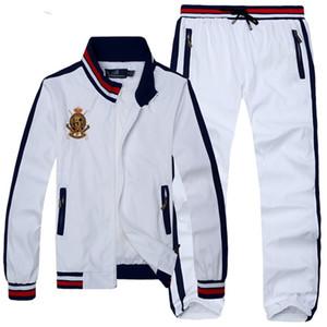Designer Anzug Sport New Hip Hop-Männer fester Anzug Männer Frühling-beiläufiger Mens-Set Slim Fit Herbst 2020 Outwear Jacke