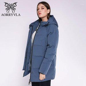 AORRYVLA 2020 Neue Winterkollektion Frauen Winter Warme Daunenjacke Weibliche Winddichte Parka Lange Dicke Jacke Frauen Casual11