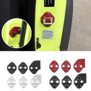 ABS 차량 도어 잠금 보호 장식 커버 스티커 스즈키 JIMNY 2,019 UP 자동차 인테리어 액세서리