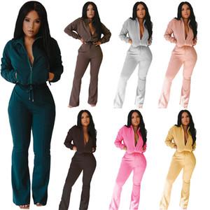 2 Два кусок набор трексуита женщины африканская рубашка с длинным рукавом длинное верхнее платье + брюки повседневные леггинсы наряды Joggers соответствия костюмы 2020