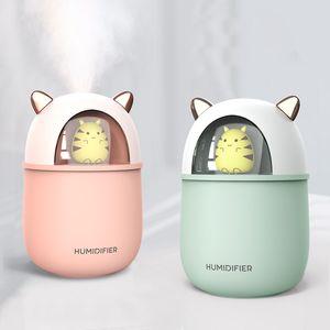 Cute Pet Humidifier Skin Moisturizing Household Office Bedroom Replenishment Mute Humidification Portable Heavy Fog Multiple Power