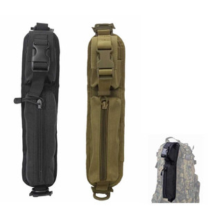 For EDC Pouch Accessory Tactical Hunting Backpack Shoulder Airsoft Strap MOLLE Bag Paintball NEW Totlw