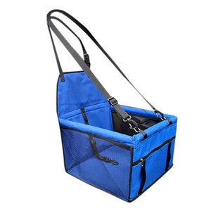 Travel Accessories Mesh Cat Dog Carrier Oxford Cloth Waterproof Folding Washable Hammock Travel Mat Bag Dog Car Seat Cover Pet