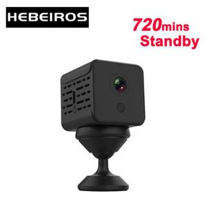 Hebeiros 1080P الترا البسيطة بطارية الكاميرا قاعدة المغناطيسي داش المحمولة IP واي فاي كاميرا منخفضة قوة الصوت المستهلك SD بطاقة السيارة