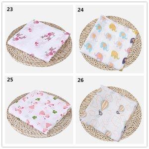 شحن مجاني مخصص الطباعة نمط القطن الشاش قماط بطانية الطفل البطانيات الصغيرة، الطفل الشاش الطفل بطانية HHE4046