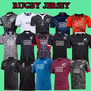 2020 Rugby TOUS Maillots qualité Noir Super Rugby Jerseys100 année anniversaire commémoratif maillot de rugby d'édition Toutes les tailles S-3XL