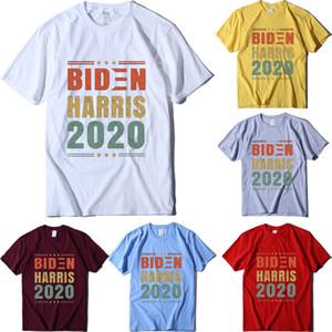 Biden Harris camiseta Keep America Gran cuello redondo manga corta de EEUU de las camisas nuevo presidente Joe Biden camisetas Camiseta del escudo
