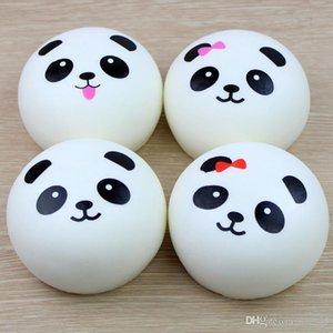 2019 New 4cm 7cm 10cm Kawaii Soft Scented Squishy Jumbo Panda Slow Rising Squeeze Bun Toy Phone Accessories Charm Squishies bread