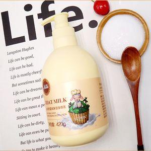 جمال الجلد الطبيعي الحليب الماعز الحليب كريم أفضل بشرة تبييض البشرة السوداء ترطيب تليين الجسم تبييض الجسم