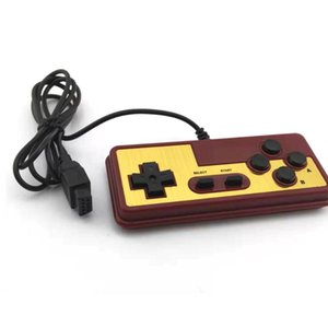 Japanese console gamepad 8-bit style 9 Pin Plug Cable With Turbo A B Button Controller For N-E-S for F-C joystick handle
