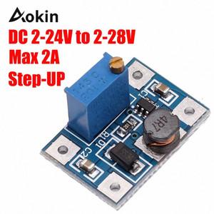 2-24V к 2-28V 2A DC-DC SX1308 повышающего Регулируемый модуль питания Step Up конвертер для Arduino DIY Kit MzMR #