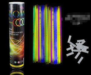 800pcs Multi Color Hot Glow Stick Bracelet Necklaces Neon Party LED Flashing Light Stick Wand Novelty Toy LED Vocal Concert Flash