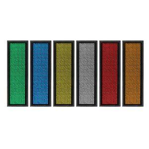 LED MINI Цифровой программируемый прокруткой Перезаряжаемое название Name Tag Tag Badge Sign Whosale Dropship