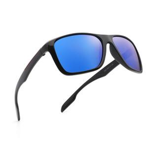 Polaroid sunglasses Unisex Square Vintage Sun Glasses Sunglases polarized Sunglasses Mirror Feminino For Women Men