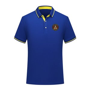 Atlanta United FC summer fashion cotton football polo shirt men short sleeve lapel polo soccer men polo shirt training jersey